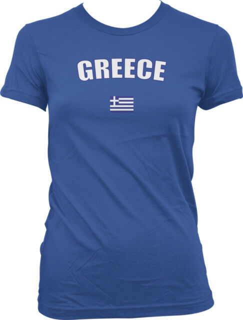 Greece Coat of Arms Hellenic Republic Greek Pride Mens V-neck T-shirt
