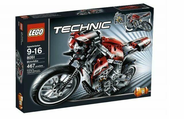 Lego Technic Motorcycle 8051 For Sale Online Ebay
