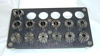 ER 32 RACK HOLDS 32 COLLETS-CNC MILLING-TURNING-EDM.NC