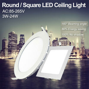 Round-Square-Recessed-Ceiling-Lamp-LED-Panel-Down-Lights-For-Home-Commercial-09