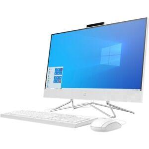 """HP 23.8"""" All-in-One Desktop Computer AMD Athlon 3050U 8GB RAM 256GB SSD"""
