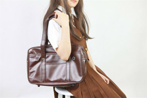 Japanese Lolita Girl JK School Uniform Handbag School Shoulder Bag Briefcase Big