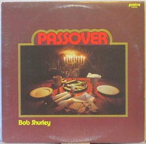 BOB SHURLEY Passover LP Xian Folk w/Guitar, Flute, Piano – on Virgin Vinyl