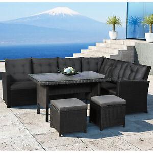 polyrattan gartenm bel essgruppe gartenset tisch sitzgruppe rattanm bel artlife ebay. Black Bedroom Furniture Sets. Home Design Ideas