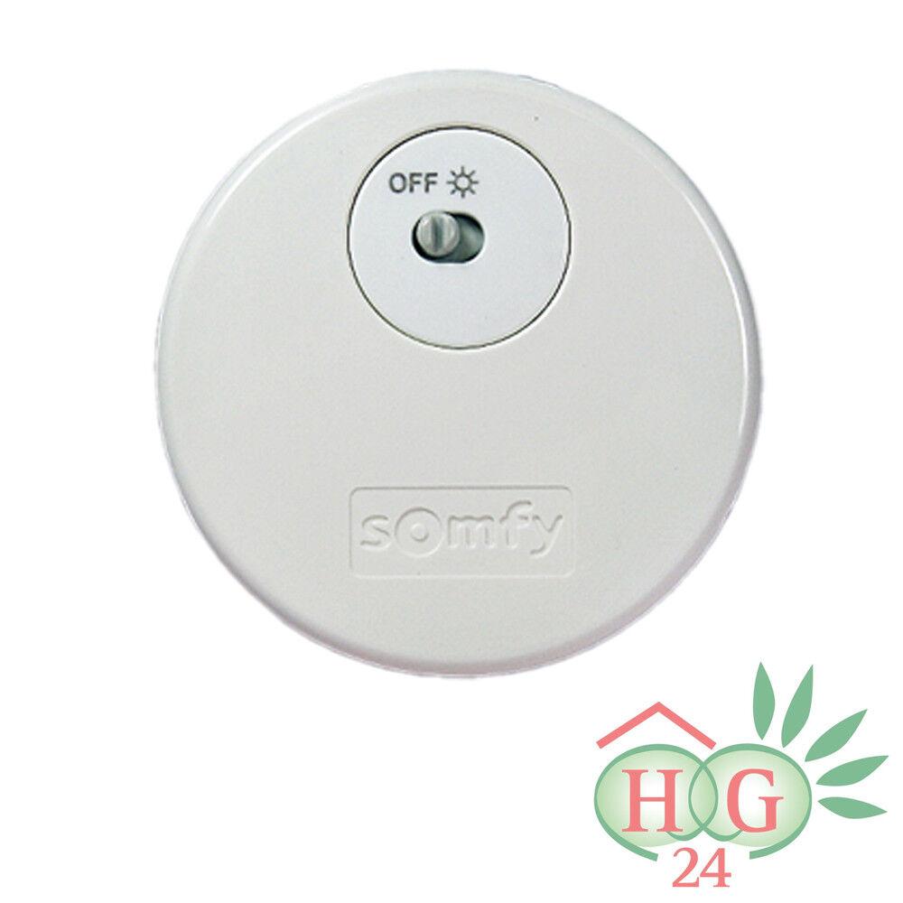 Somfy Sunis Indoor WireFree RTS Funk Lichtsensor Lichtsensor Lichtsensor Sonnensensor Helligkeitssensor  | Heißer Verkauf  be0a32