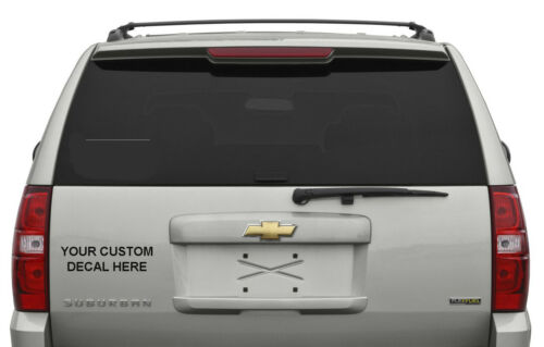 Personalized Custom Decal Sticker for Vehicle,Window,Bumper,Etc Outdoor Rated