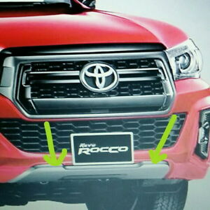 Genuine Parts Front Bumper Guard Accessories For Toyota Hilux Rocco
