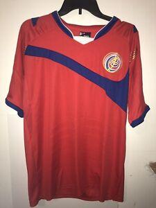 newest eff31 2daf4 Costa Rica National Team Soccer Futbol TEAM JERSEY XL Sport ...