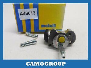 Cylinder Rear Brake Rear Wheel Brake Cylinder Metelli 040652 98452387