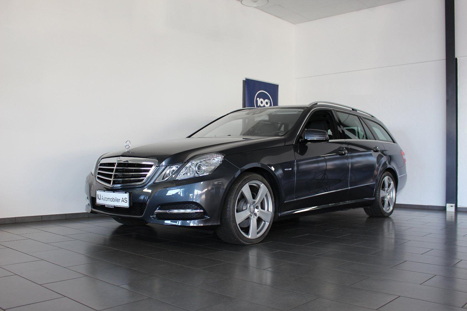 Mercedes E350 3,5 CGi Avantgarde stc. aut. BE 5d - 484.900 kr.