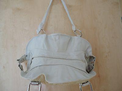 Damen Shopper beige Handtasche Reisetasche Umhänge Sport Tasche Neu