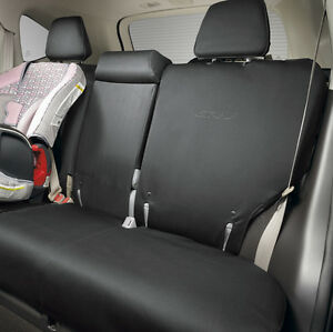 2012 2016 honda cr v 2nd row seat covers black oem 08p32 t0a 110 ebay. Black Bedroom Furniture Sets. Home Design Ideas
