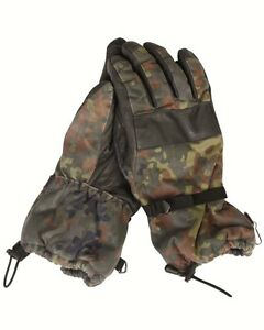GENUINE-GERMAN-ARMY-ISSUE-COLD-WEATHER-GORETEX-FLECKTARN-COMBAT-GLOVES-GRADE-1