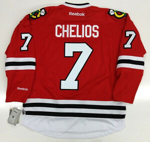 Image is loading CHRIS-CHELIOS-CHICAGO-BLACKHAWKS-RBK-JERSEY 80444cf2b