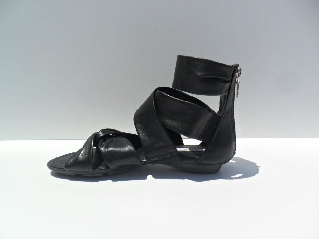 Sandalo Geox donna fasce fasce fasce pelle nera (17) | Sito Ufficiale  | Uomini/Donna Scarpa  6a2b91