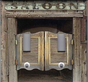 Image is loading WESTERN-SALOON-DOORS-HOME-DECOR-DOUBLE-LIGHT-SWITCH- & WESTERN SALOON DOORS HOME DECOR DOUBLE LIGHT SWITCH PLATE | eBay Pezcame.Com