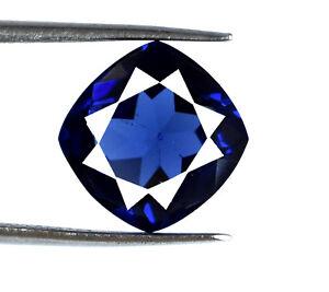 Blue-Tanzanite-Loose-Gemstone-Transparent-6-8-Ct-Natural-Cushion-AGSL-Certified