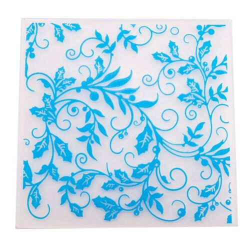 Vine Plastic Embossing Folder Template DIY Scrapbook Paper Craft K6