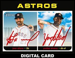 Topps-BUNT-Altuve-Alvarez-RED-Signature-REAL-ONE-2020-S2-DIGITAL-CARD