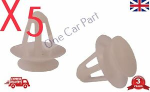 Ford /> gm /> Opel /> VW clips /> /> plástico tornillo exteriores /& interiores /> Gris claro