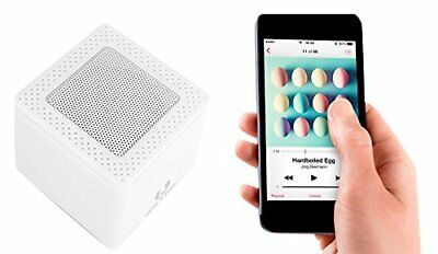 Audio Docks & Mini Speakers Hart Arbeitend Fresh 'n Rebel Rockbox Cube Wireless Bluetooth Speaker Sound & Vision White Brand New