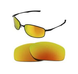 56c8329f6b NEW POLARIZED FIR RED REPLACEMENT LENS FOR OAKLEY TAPER SUNGLASSES ...
