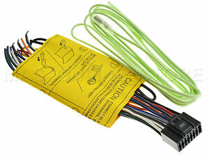 s l300 jvc kw av61 kwav61 genuine wire harness *pay today ships today* ebay jvc kw-xr610 wiring harness at gsmportal.co