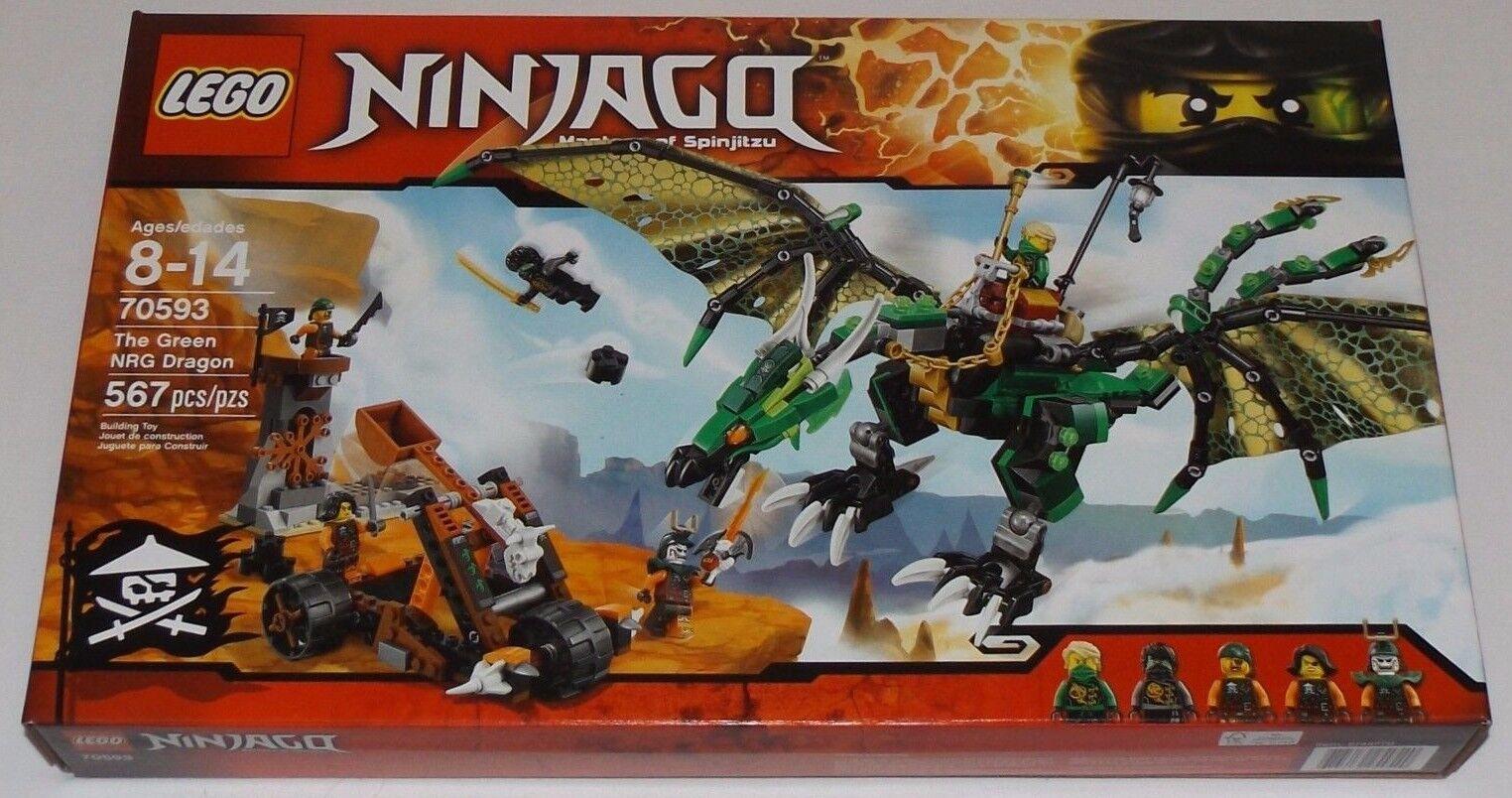LEGO Ninjago THE verde NRG DRAGON 70593 Lloyd verde ninja Ghost Cole