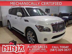 2012 INFINITI QX56 56  7 Passenger The Everything SUV!
