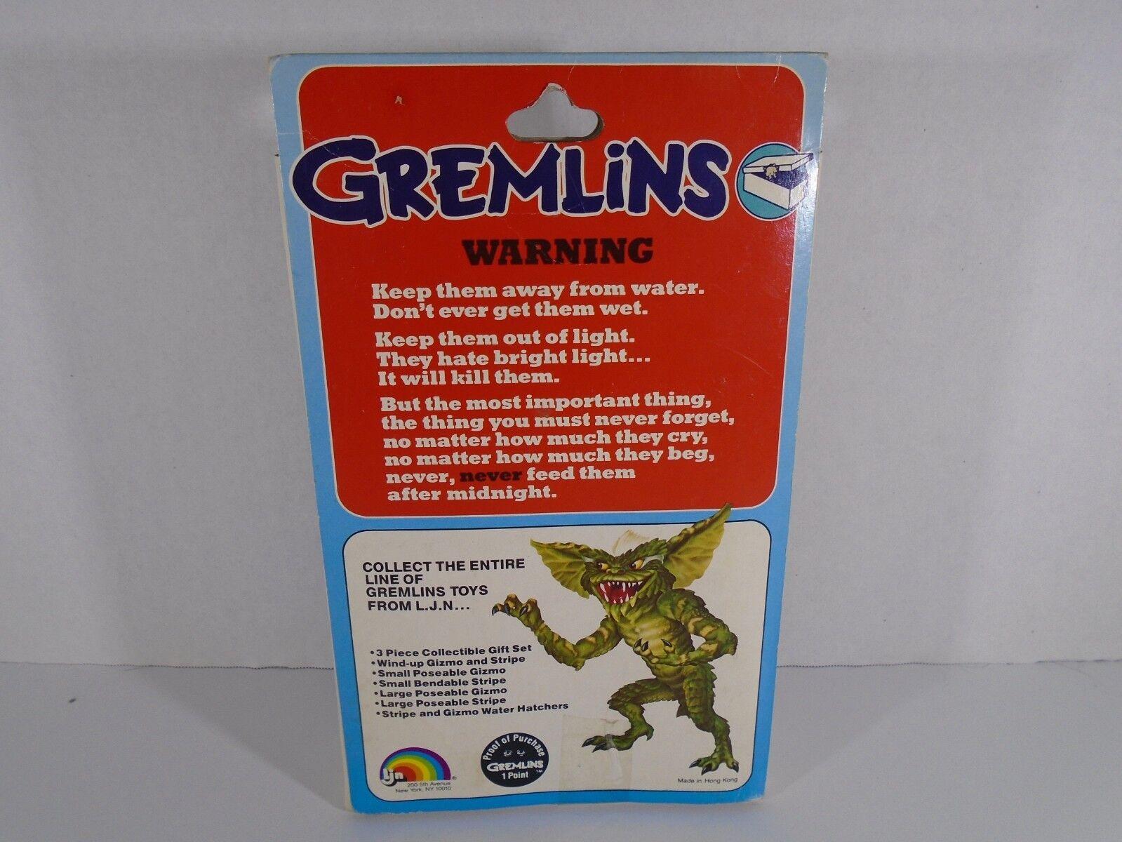 1984 LJN LJN LJN TOYS--GREMLINS MOVIE--3.5  GIZMO FIGURE (NEW) 47adb1