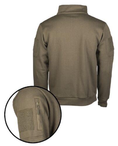 Tactical outdoor ocio Army sudadera con cremallera Green Ranger