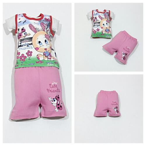 ♥ Neu ♥ Babykleidung  2-teilig , Shorts, Oberteil,  Gr.74 ; 80 ; 86  