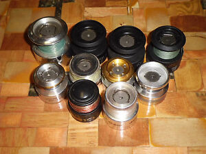 Assorted Name Brands Spinning Reel Spools