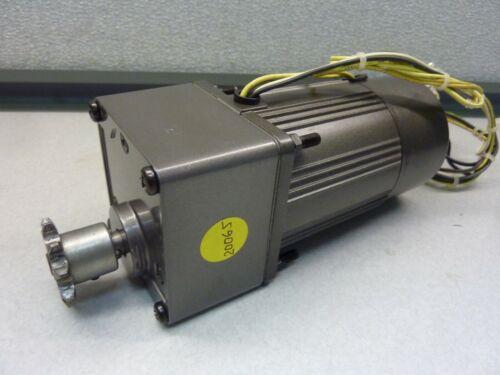 PANASONIC M7RA15GB4GE Induction Motor 1PH 230VAC 0.17A 4P with M7GA50B 20065