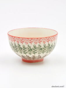 Details About Pretty Small Painted Ceramic Decorative Bowls