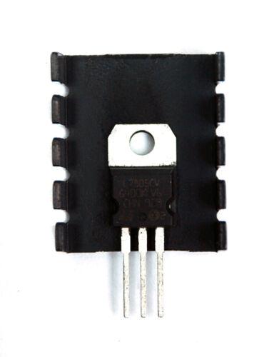 20pc Aluminum Heat Sink Ak-199 25x30x12mm WxHxD Black hole=φ3.7mm Heatsink