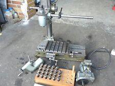 Hommel UWG 1 Drehmaschine Drehbank Uhrmacher Maschine Büchsenmacher Fräs Fräse