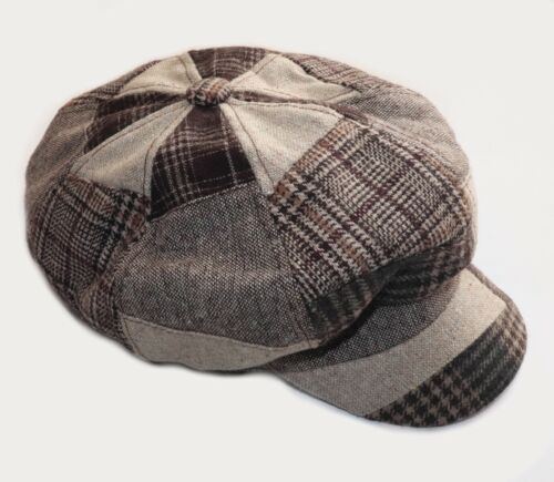 Shandon Ireland Irish Tweed UNUSUAL Patchwork Men'