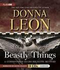 Beastly Things by Donna Leon (CD-Audio, 2012)