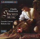 Claudio Monteverdi: Sacred Music (CD, Nov-2005, 2 Discs, Dynamic (not USA))