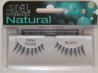 Ardell Fashion Lashes #PIXIES DEMI Eyelashes Black 3 pack