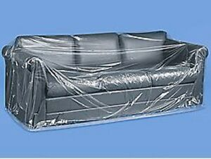 100 Roll Plastic Sofa Cover For Storage Paint Painting Remodeling Moving Hauling Ebay