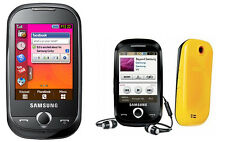 Cellulare Samsung Corby gt-s3650 Black/White-libero per tutte le schede SIM NUOVO