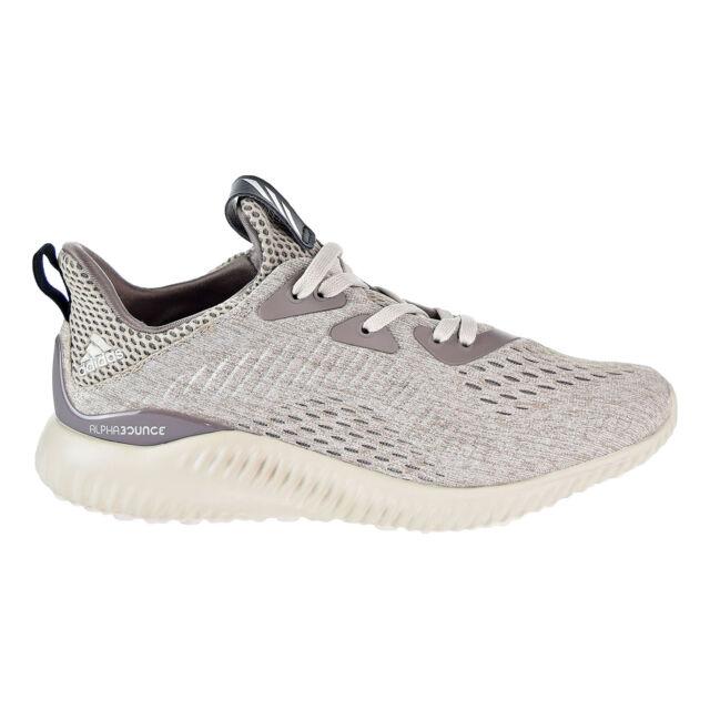 a1925edfd686f Adidas Alphabounce EM J Big Kid s Running Shoes Tecear Core Brown BW0578