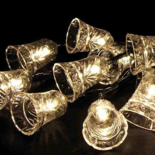 Solar 20 LED STRING BELL LIGHTS