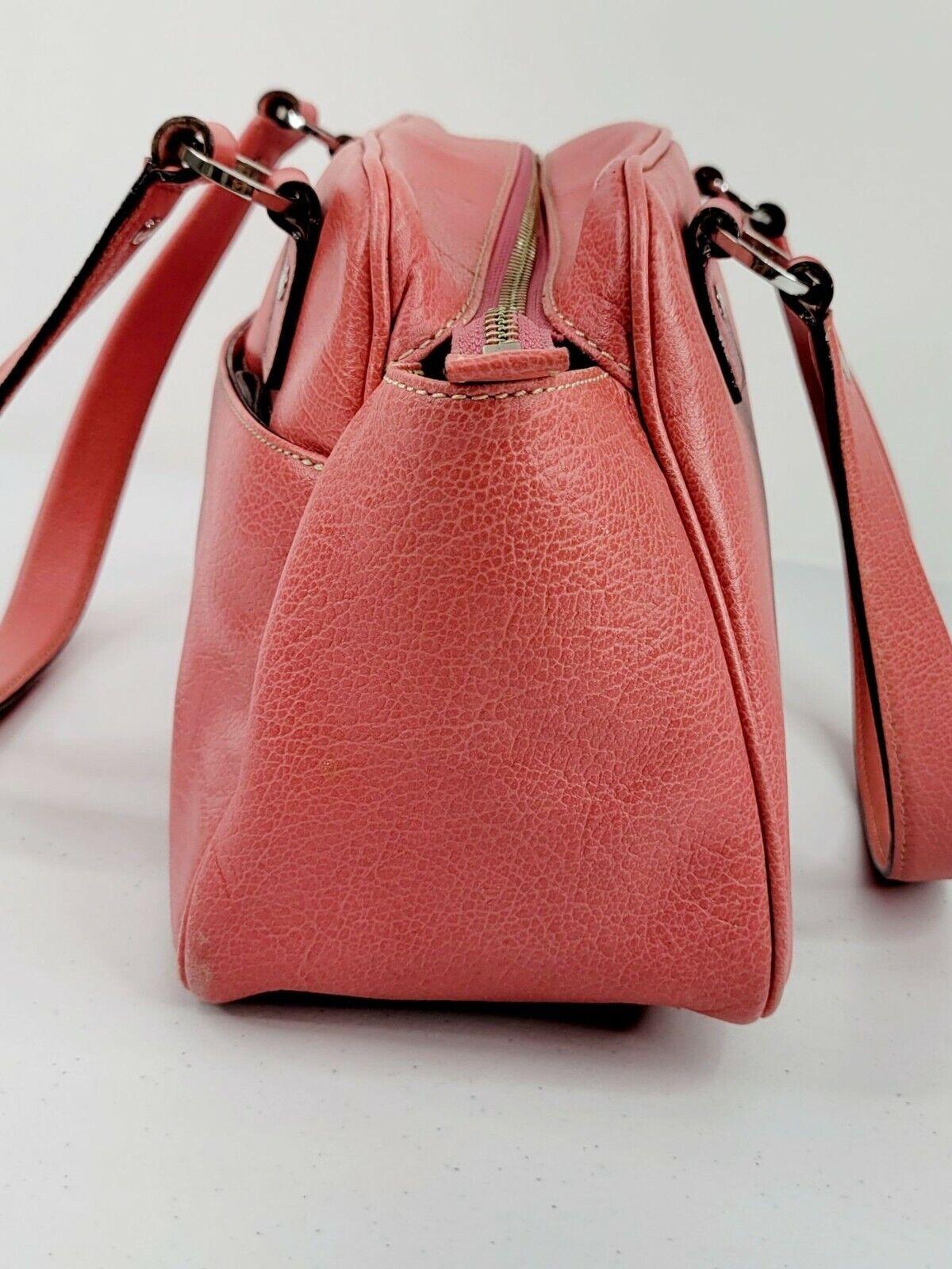 Kate Spade New York Bubblegum Pink Leather Satche… - image 3