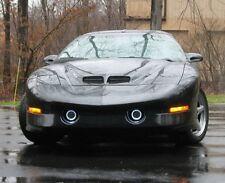 1998-2002 Pontiac Firebird Trans Am Halo Fog Lamp Angel Eye Driving Light Kit