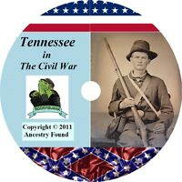 Tennessee Civil War Books History & Genealogy 25 Books