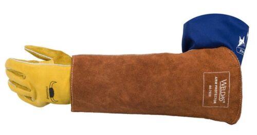 Weldas Heavy Duty Arm Schutz für Schweisser,Hitze und Flamme Beständig 1 Stück