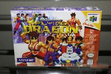Flying Dragon (Nintendo 64, N64 1998) FACTORY H-SEAM SEALED! - ULTRA RARE!